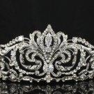 High Quality Clear Swarovski Crystals Bridal Princess Tiara Crown 4 Wedding
