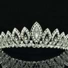 Tiptop Teardrop Tiara Crown Wedding Bridal Women Jewelry Swarovski Crystal 8574