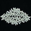 Pretty Multi Flowers Brooch Broach Pin for Women Prom Rhinestone Crystal  XBY033