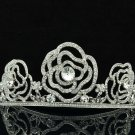 H-Quality Wedding Bridal Flower Tiaras Crown Headband Swarovski Crystals 8567-0C