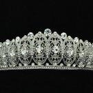 New 2014 Clear Flower Tiara Crown Bridal Accessories Rhinestone Crystals 14004R
