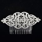Europe Imperial Style Rhinestone Crystals Flower Hair Comb Accessories XBY104
