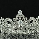 Hi-Q Swarovski Crystal Zircon Symmetric Tiaras Crown Women Party Jewelry SHA8648