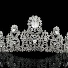 Super Swarovski Crystal Bridal Wedding Flower Tiaras Crown Pageant Prom JHA8319