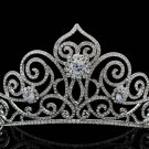 New Swarovski Crystal Tiara Crown for Bridal Wedding Girl Birthday Prom SHA8446