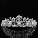Smart Flower Headband Tiara Crown Bridesmaid Prom Pageant Swarovski Crystal 3446