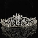 Clear Swarovski Crystals Bridal Bridesmaid Tiara Crown Wedding SH8439-0C