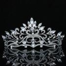 Bridal Flower Tiara Crown Hair Accessories For Wedding Swarovski Crystals SH8569