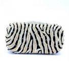 High Quality Fashion Women Clutch Evening Bag Purse Handbag Swarovski Crystals