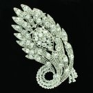 Chic Flower Brooch Broach Pin Wedding Bridesmaid Jewelry Rhinestone Crystal 5624