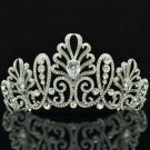 Clear Swarovski Crystal Wedding Bridal Blink Floral Tiaras Crown Jewelry SHA8636