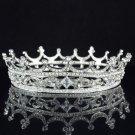 Trendy Clear Swarovski Crystals Flower Round Tiara For Bridal Pageant SHA8577