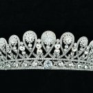 Exquisite Swarovski Crystals Royal Family Tiara Crown Wedding Jewelry SHA8627