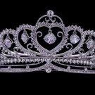 H-Quality Wedding Hearts Tiara Crown Bridal w/ Zircon Swarovski Crystals SHA8443