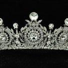 Wedding Bridal Flower Tiara Crown Women Jewelry Swarovski Crystals SHA8641