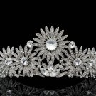 High Quality Swarovski Crystals Sunflower Tiara Crown for Bridal Wedding SHA8501