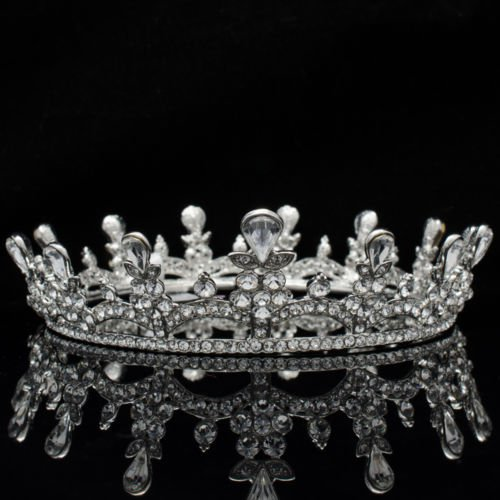 Swarovski Crystal Flower Tiara Crown Headbands Bridesmaid Prom Pageant SHA8550A