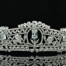 Design Flower Tiaras Crown Bridal Accessories Rhinestone Crystals 262RJK