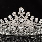 Rhinestone Crystals Wedding Brida Prom Parade Tiara Crown Hair Jewelry 4001R