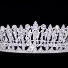 Pageant Wedding Bridal Tiara Crown Swarovski Crystal Fit Allergic Skin SHA8697