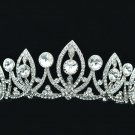 Flower Headband Tiara Crown Clear Rhinestone Crystals For Princess Prom SHA8631