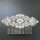 Vintage Rhinestone Crystals Hair Comb Bridal Wedding Hair Accessories FA5091