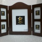 wooden photo frame HOME DECOR 5 pcs pictures nice gift