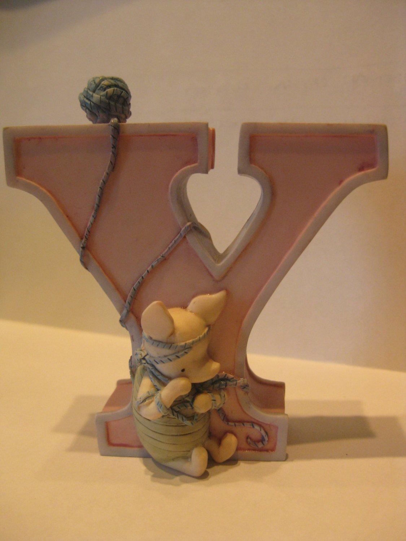 "Pooh Alphabet Letter ""Y"""