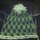 "CROCHET HAT TO FIT CHILD OR ADULT WITH 23"" HEAD"
