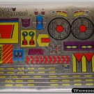Transformers G1 Trypticon Sticker Decal Sheet