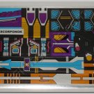 Transformers G1 Scorponok Sticker Decal Sheet