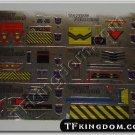 Transformers G1 Devastator Set Sticker Decal Sheet