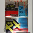 Transformers G1 Metroplex Full Set Sticker Decal Sheet