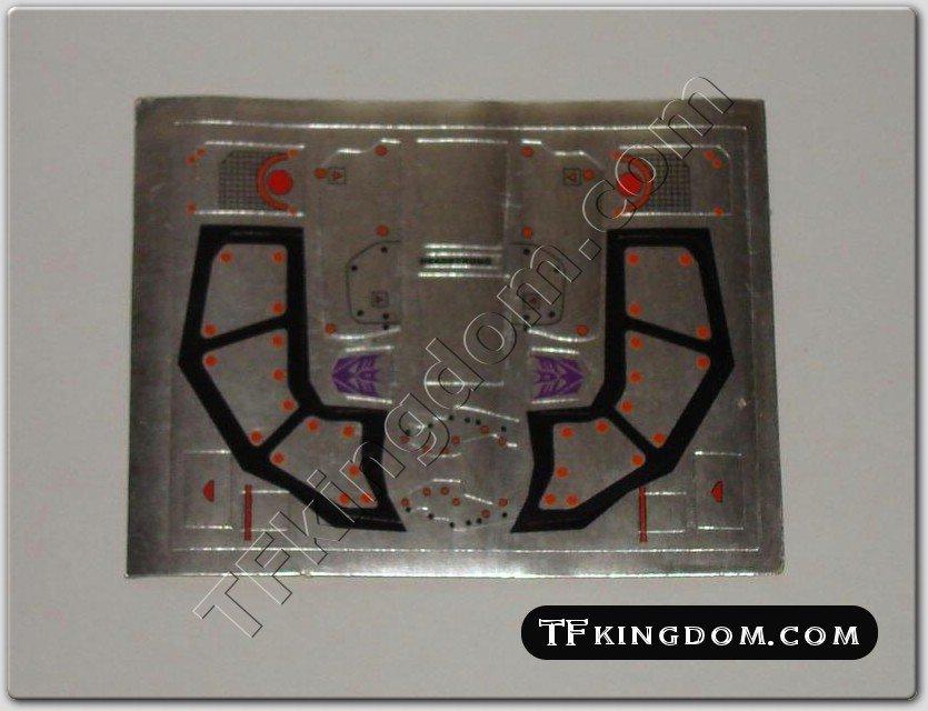 Transformers G1 Headstrong Sticker Decal Sheet