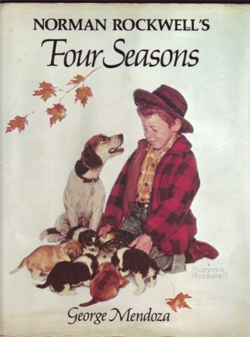 NORMAN ROCKWELL'S FOUR SEASONS BY G MENDOZA HBDJ 1982