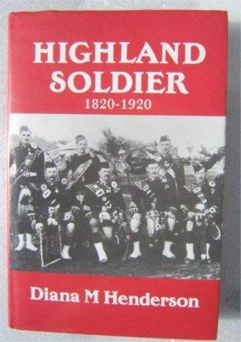 HIGHLAND SOLDIER 1820 1920 BLACK WATCH  93rd REGIMENT 1ST HB