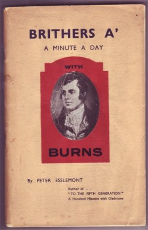 BRITHERS A' A MINUTE A DAY WITH ROBERT BURNS PB 1950