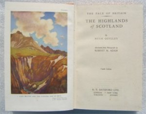 THE HIGHLANDS OF SCOTLAND H QUIGLEY HB 1949 ILLUSTRATED