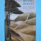 THE WRONG MUSIC POETRY OF OLIVE FRASER 1909-77 HB 1ST