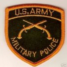 ARMY BOS MILITARY POLICE COLOR PATCH INSIGNIA
