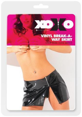 Vinyl break away skirt