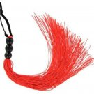 "11.5"" Rouge Cruelty Free Red Whip Bondage ~ Vegan Friendly Crop Flogger"
