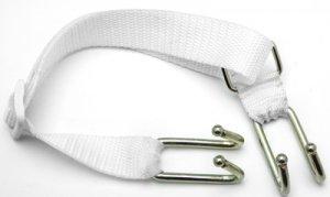 White Adjustable Open Mouth Dental Hooks Spreader