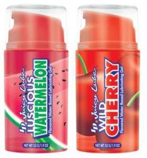 ID Juicy Flavored Lube Wild Cherry + Watermelon 1.9oz