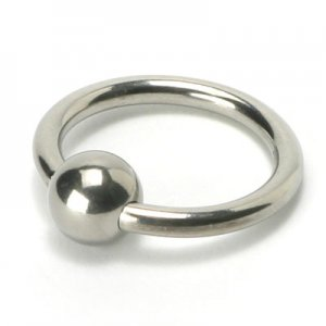 Penis Head Glans Ring w/ Ball : Cock Jewelry NIB