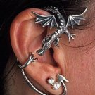 new Dragon Ear Cuff Ancient Silver Fly Earring  free shipping