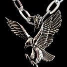 new 316L Stainless Steel Eagle Hawk charm pendant necklace free shipping