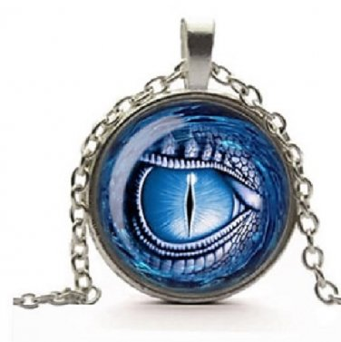 New Fashion Dragon eye Stereoscopic charm Unisex Pendant Bronze color Necklace