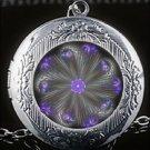 Awesome Sacred Mandala Open Locket Chain Necklace