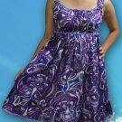 140 Boho Summer beach Scoop neck Floral print sundress Top Blouse